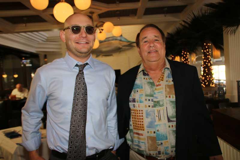 Ben Siegel and friend