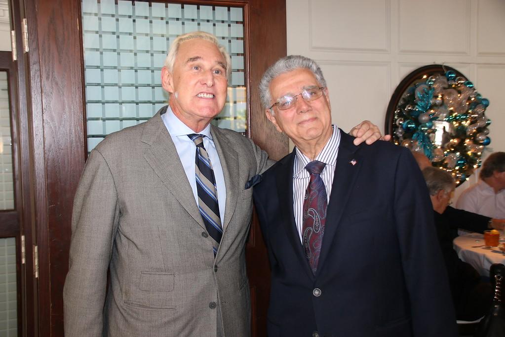 Roger Stone and Al Zucaro